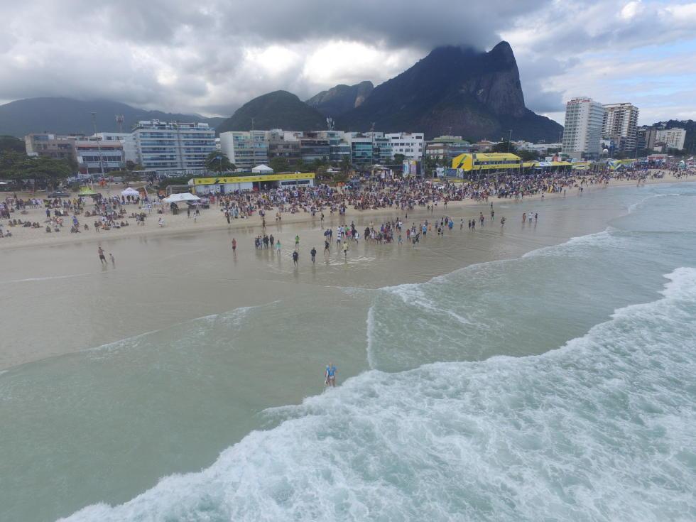 3 Postinho event site 2016 Oi Rio Pro fotos WSL Daniel Smorigo
