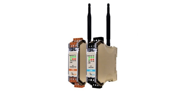 industrial process control wireless transmitter and receiver