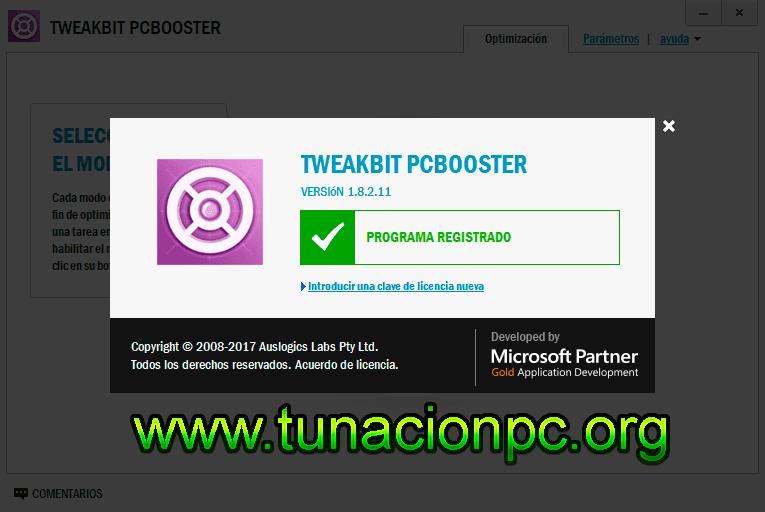 TweakBit PCBooster, Optimiza los Recursos del Sistema Imagen