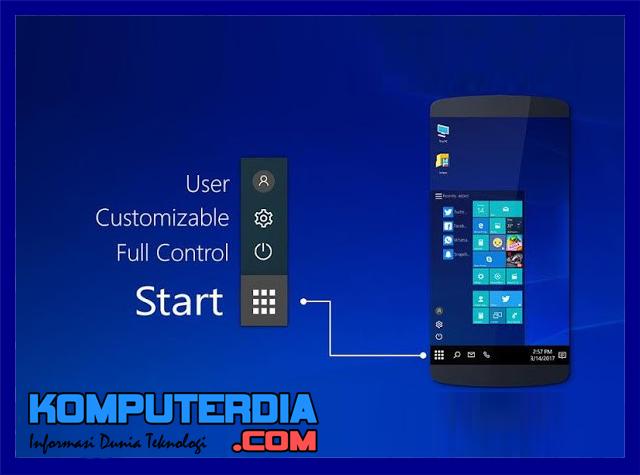 Cara Install Tema Windows 10 Premium Secara Gratis Di Smartphone Android
