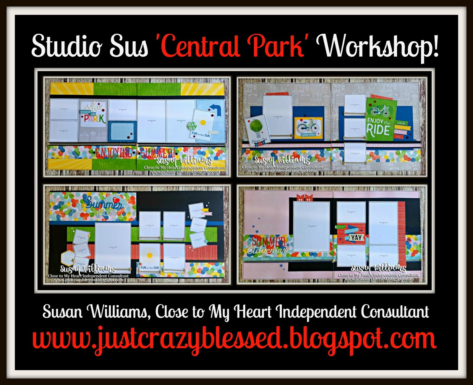 'Central Park' Scrapbooking Workshop!