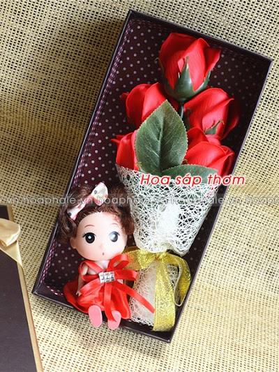 Hoa hong sap thom vinh cuu o Quan Thanh