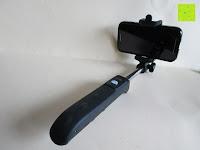 Erfahrungsbericht: Anker Bluetooth Selfie Stick Stange Stab mit 20 Stunden Akkulaufzeit für iPhone, Android und alle anderen Smartphones (Schwarz)