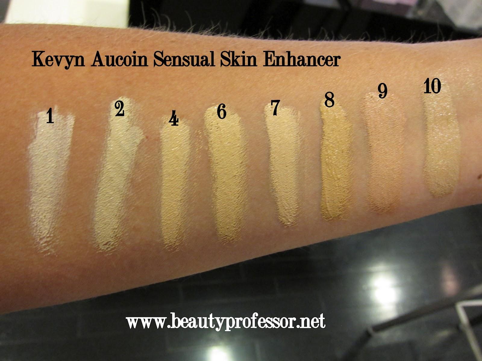 Beauty Professor: Kevyn Aucoin Sensual Skin Enhancer--All