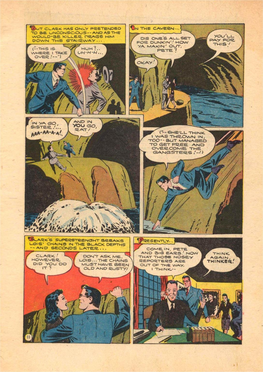 Read online Action Comics (1938) comic -  Issue #70 - 13
