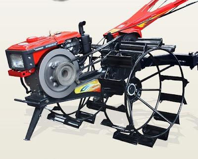 Mesin Traktor Bajak Sawah Merk Quick
