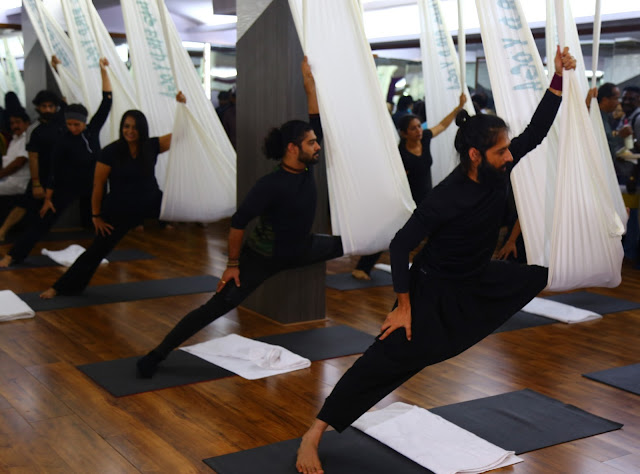 Akshar Yoga Unveils the Latest Innovation in Yoga with the Flying Bird Yoga- The Aerial Yoga