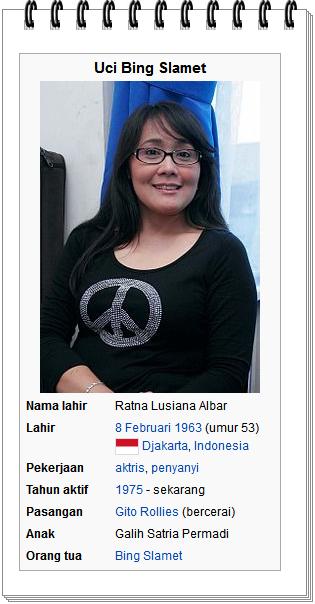 foto Uci Bing Slamet peran sebagai mutiara hajjah rodhiyah