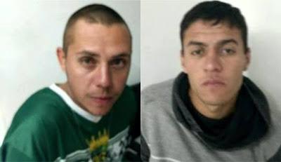 Atrás das grades bandidos que sequestraram Ouvidora da GCM de Paranaguá (PR)
