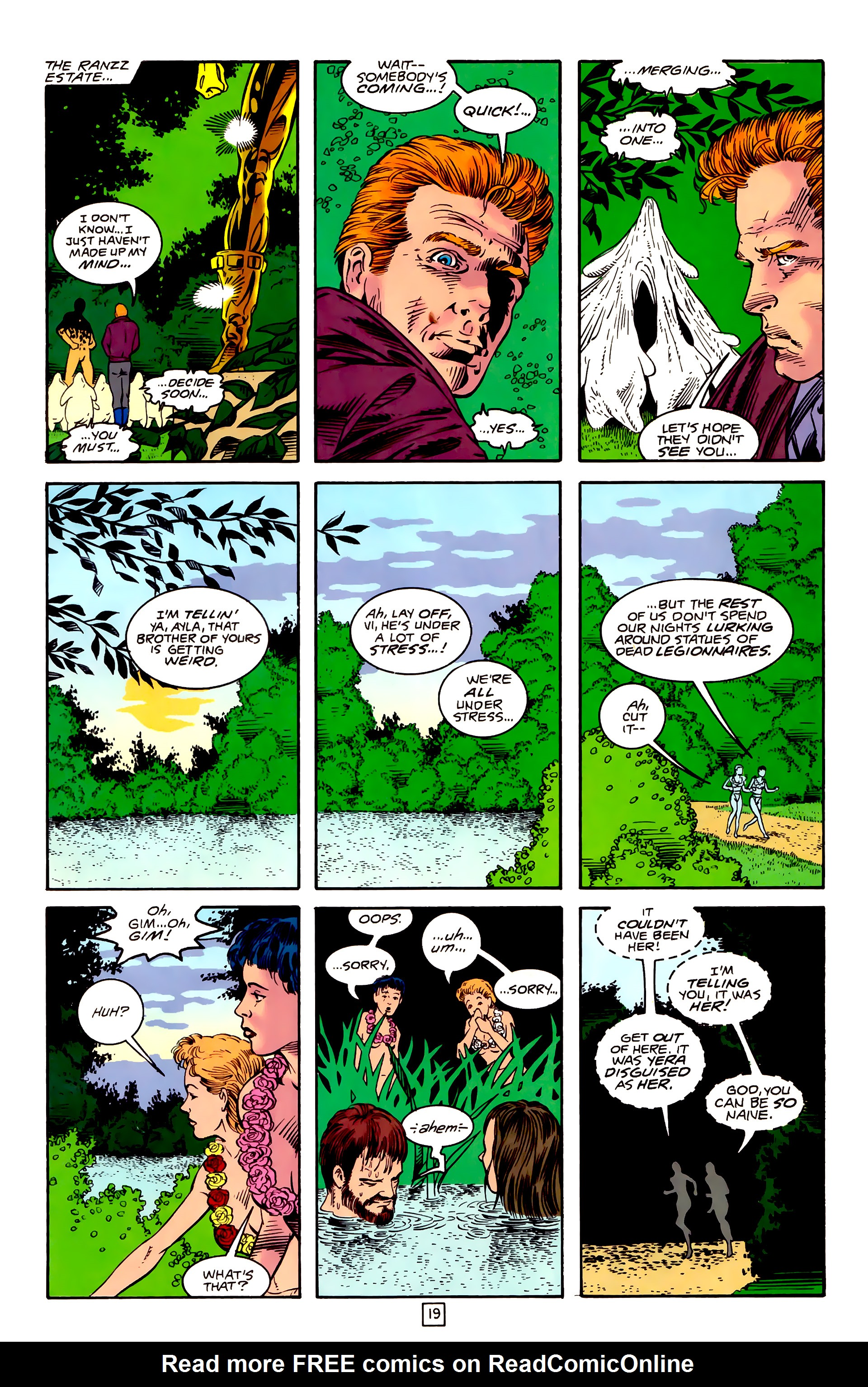 Legion of Super-Heroes (1989) _Annual_3 Page 46