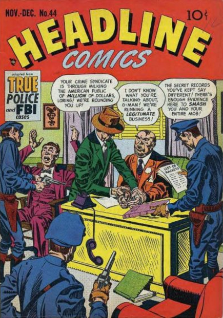 Simon-Kirby Headline Comics