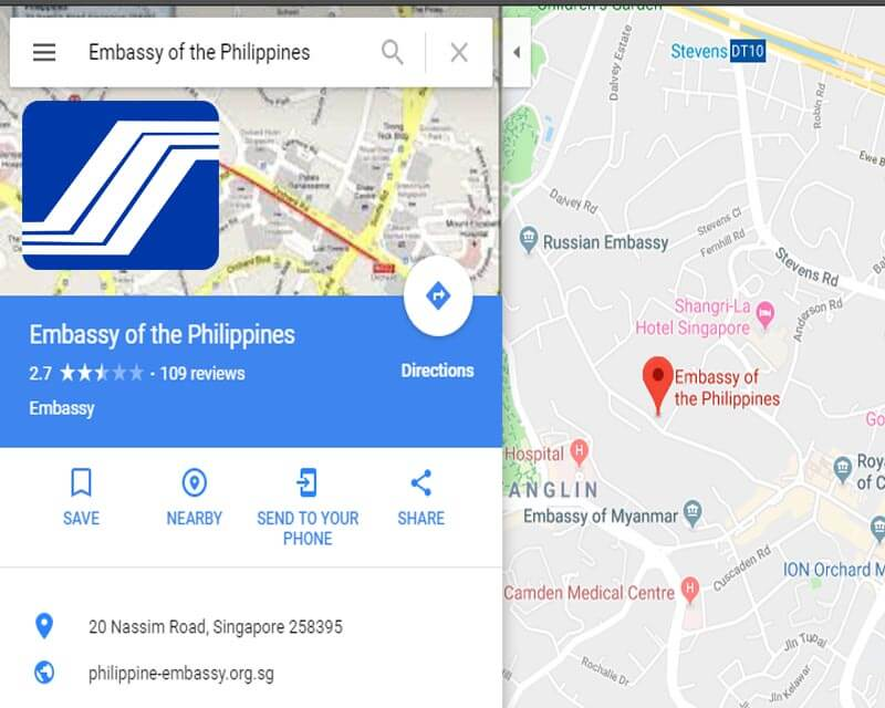 SSS Singapore Branch