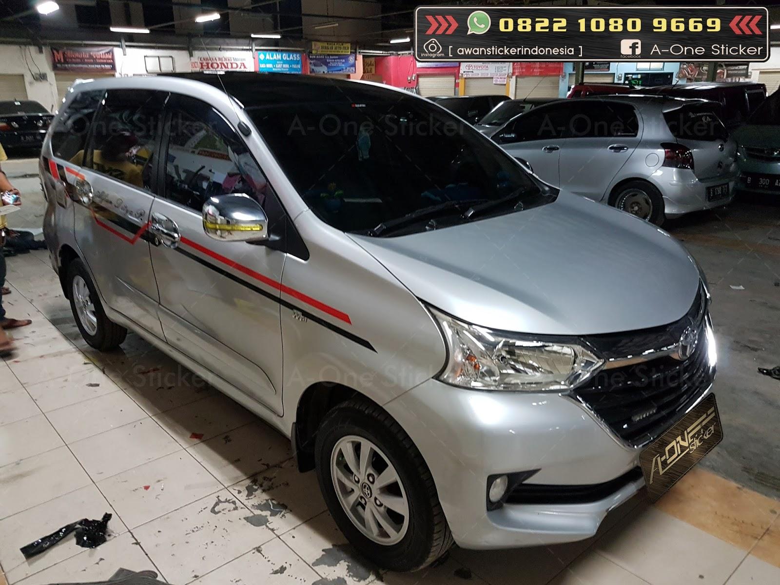 Cutting Sticker Grand New Avanza Toyota Yaris Trd Manual Modifikasi Mobil Stiker Terbaru Sobat Depok Jakarta Bogor