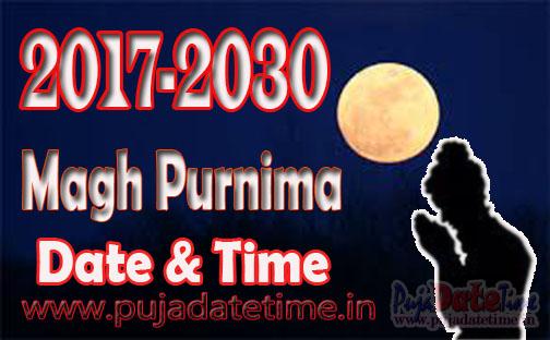 Maghi Purnima Schedule 2017-2030