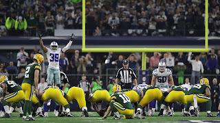 FÚTBOL AMERICANO (NFL Playoffs 2017) - Ronda Divisional: Duelo de infarto entre Cowboys y Packers que acaba rematando Crosby