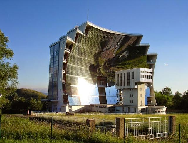 The largest Solar Furnace | Odeillo in Pyrénées-Orientales, France