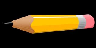 foto di matita con gomma