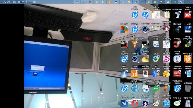 Cara Mengembalikan Desktop Terbalik pada Laptop