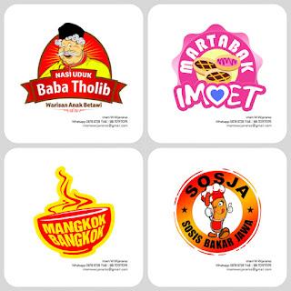 desain logo sosis bakar