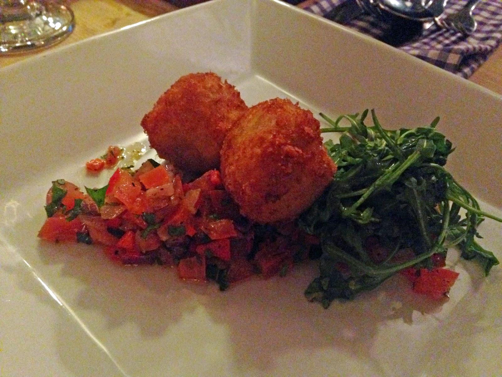 tomato risotto Balls