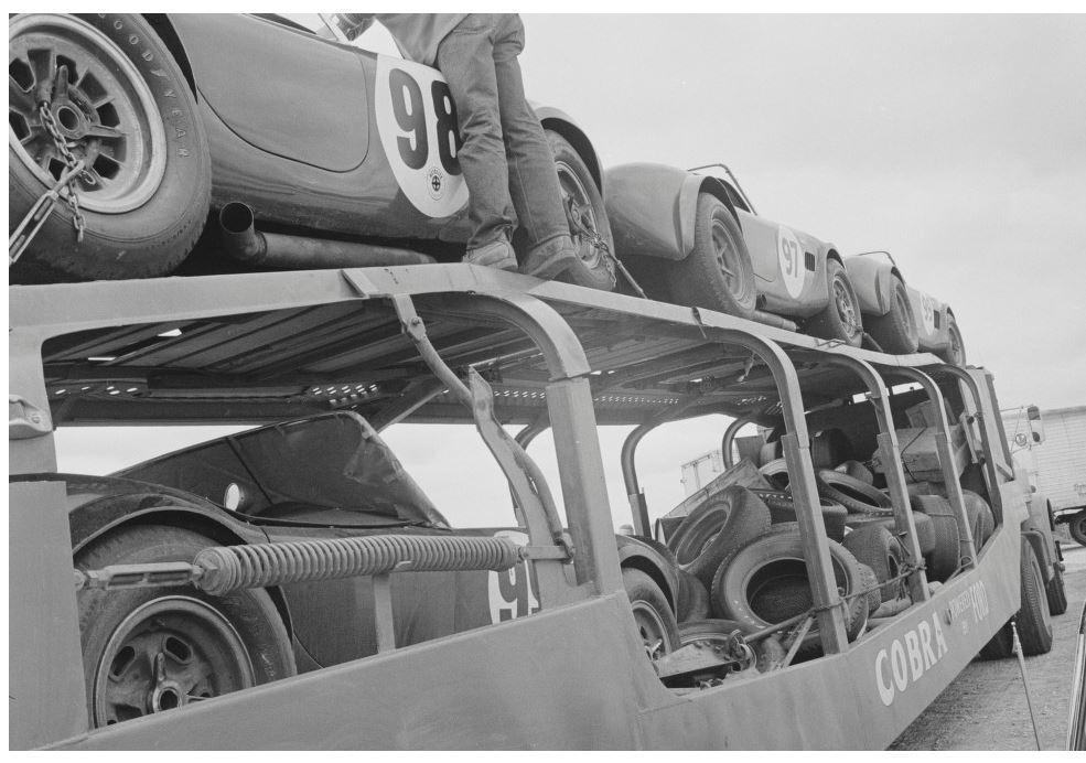 Just A Car Guy: a load of Blue Streak Goodyears and Cobras arriving ...