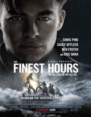 The Finest Hours 2016 Hindi Dual Audio 350MB BluRay 480p ESubs