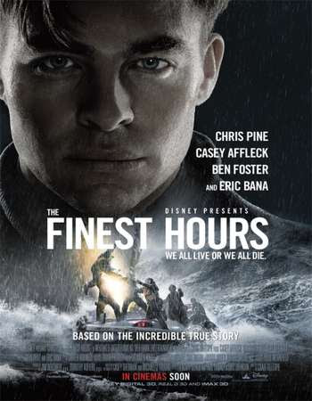 Poster Of The Finest Hours 2016 In Hindi Bluray 720P Free Download