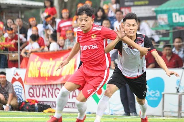 Việt Thắng lần đầu lên ngôi vô địch giải bóng đá ngành Thép