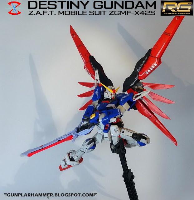 RG 1/144 Destiny Gundam ZGMF-X42S Realgrade no paint