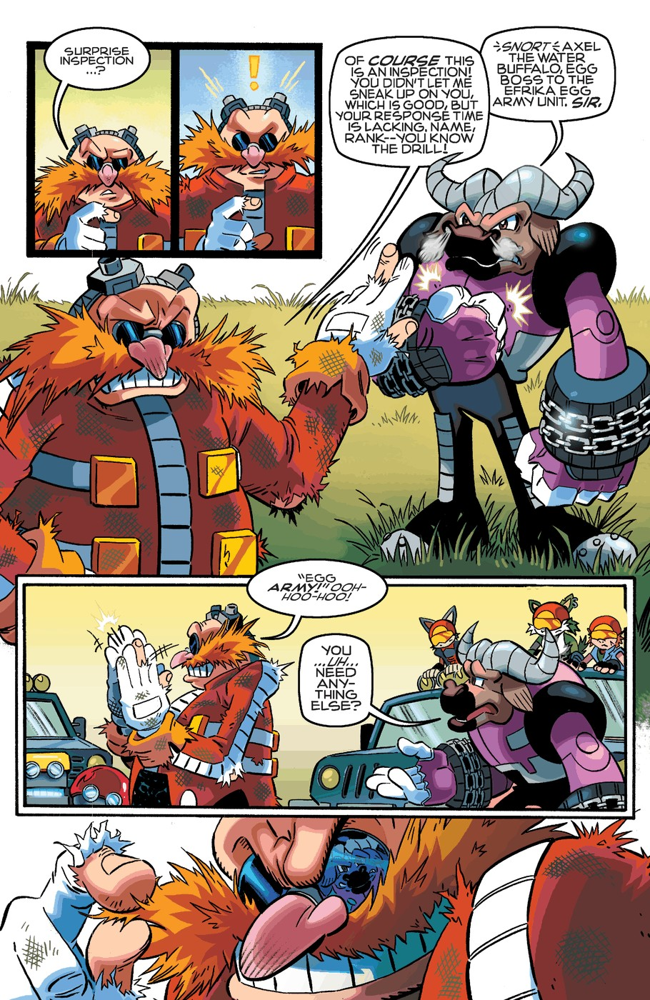 Read online Sonic The Hedgehog comic -  Issue #253 - 8