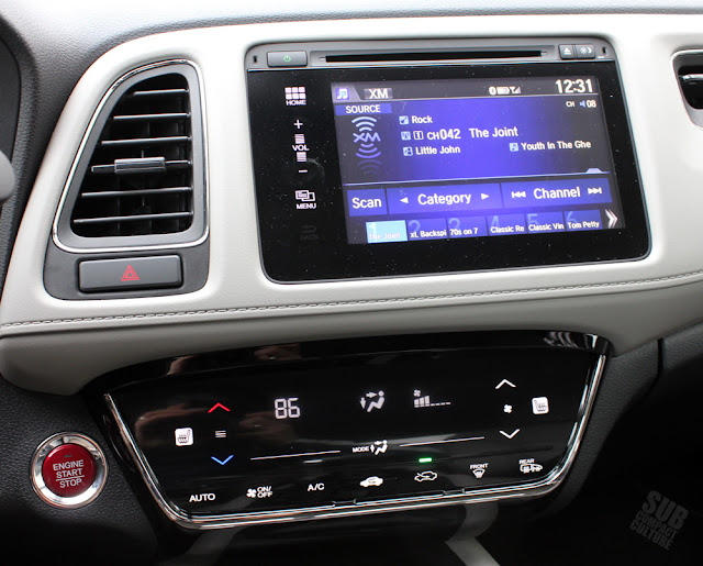 2016 Honda HR-V touchscreen