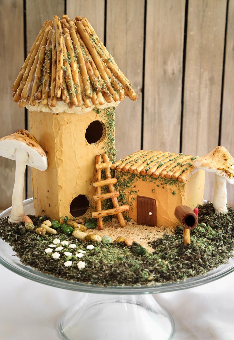 how to make woodland fairy houses