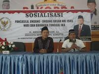Sosialisasi MPR RI, Anshory Imbau Warga Jaga Persatuan dan Kesatuan Bangsa