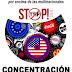 Concentración contra el TTIP y el CETA en Mérida