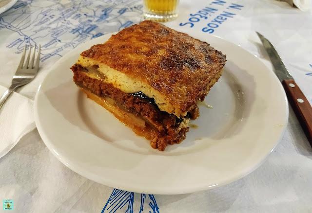 Gastronomía de Naxos