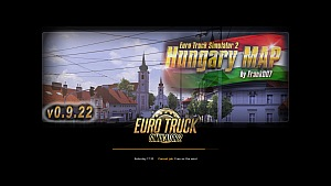 ETS2 Hungary Map version 0.9.22