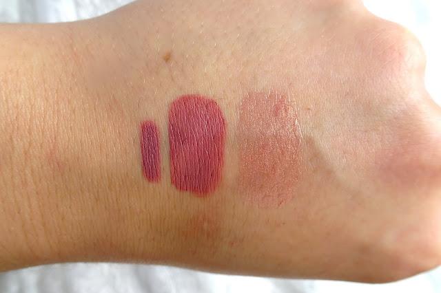 huda beauty lip tint - pomadka liquid matte, błyszczyk lip strobe, konturówka lip contour