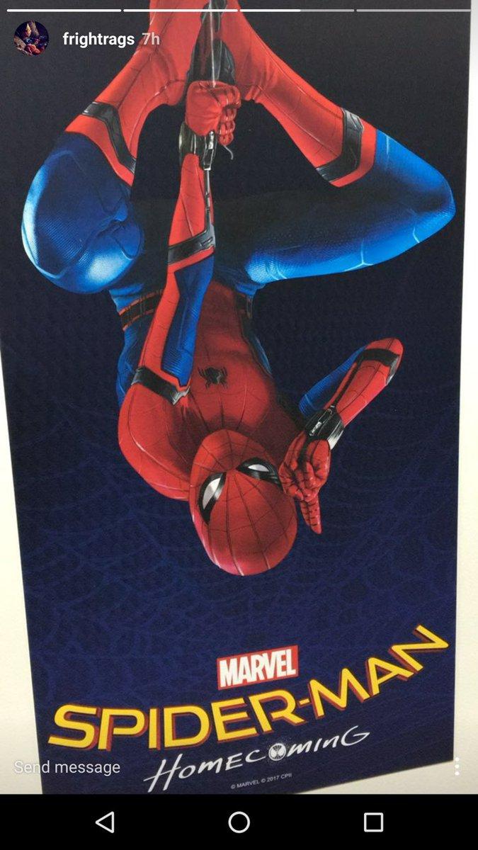 Человек-Паук 2017: фото первого постера