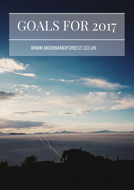 Forget dieting, drinking more water and trying to visit x amount of new countries this year. Instead I've decided to set some New Years Resolutions I can stick to. Find out more on www.moonandforest.co.uk