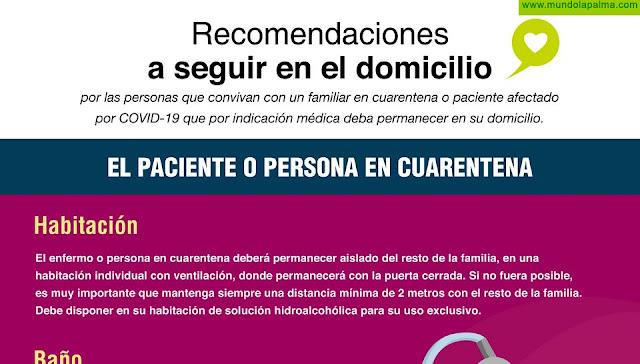 Sanidad ofrece información por SMS con instrucciones por las personas en cuarentena por COVID-19 y sus convivientes