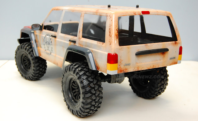 Traxxas TRX-4 rusty paint
