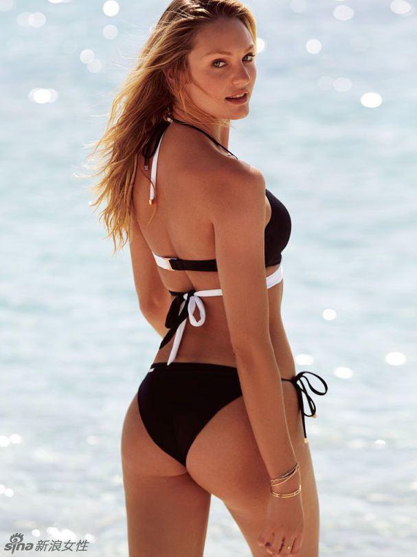 Kandi engagement supermodel sweetheart swimsuit photos