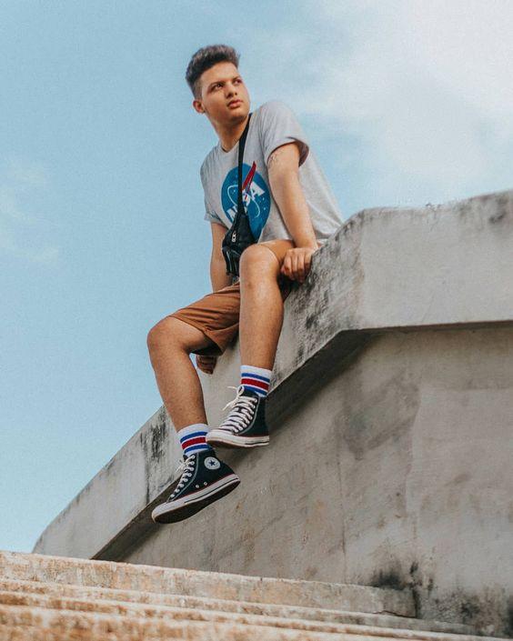 Meias Longas Masculinas tendencias masculinas primavera verão 2019