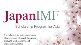 beasiswa penuh s2 s3 ekonomi jepang imf scholarship