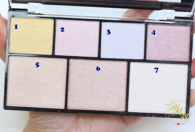 a photo of NYX Strobe of Genius Illuminating Palette