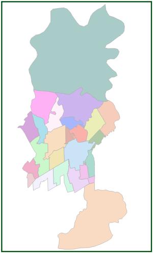 Shapefile dos bairros de Ananindeua - NAGEO CARTOGRAFIA