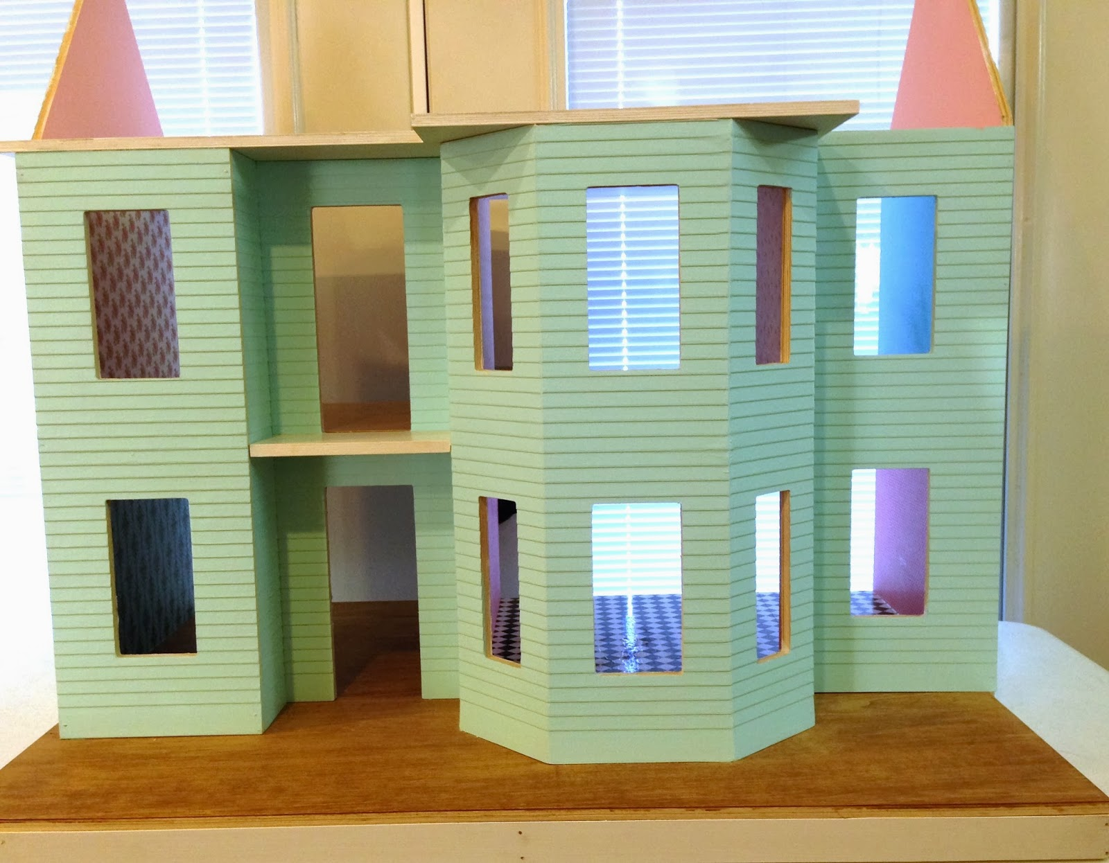 Once Upon A Doll Collection Building A Dollhouse Part 2