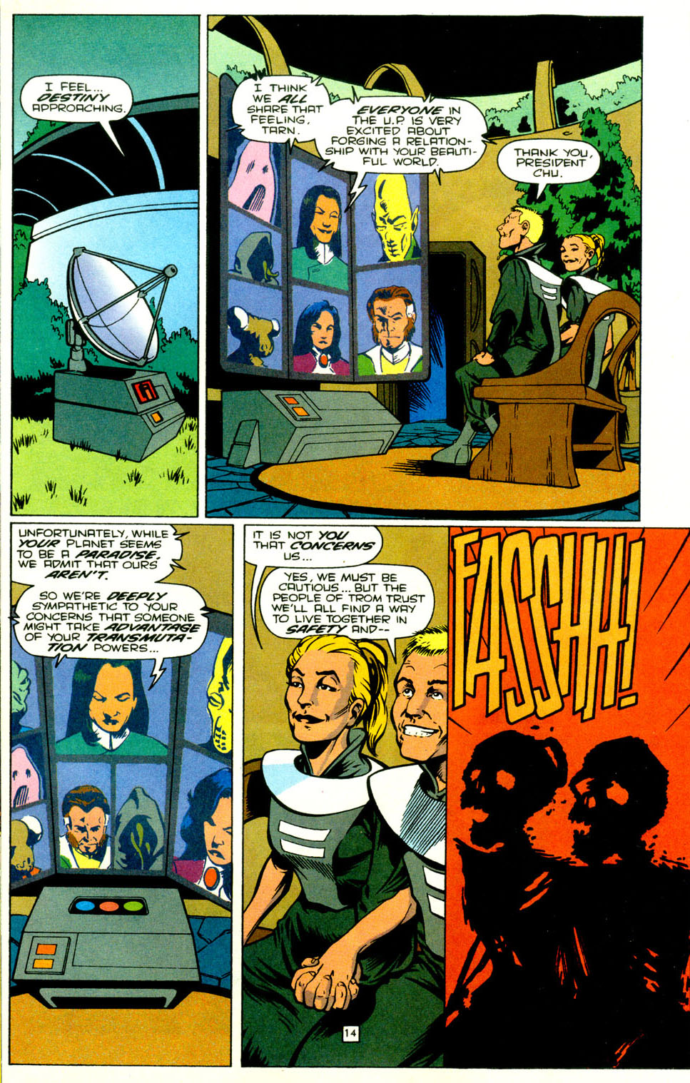 Legion of Super-Heroes (1989) 71 Page 15