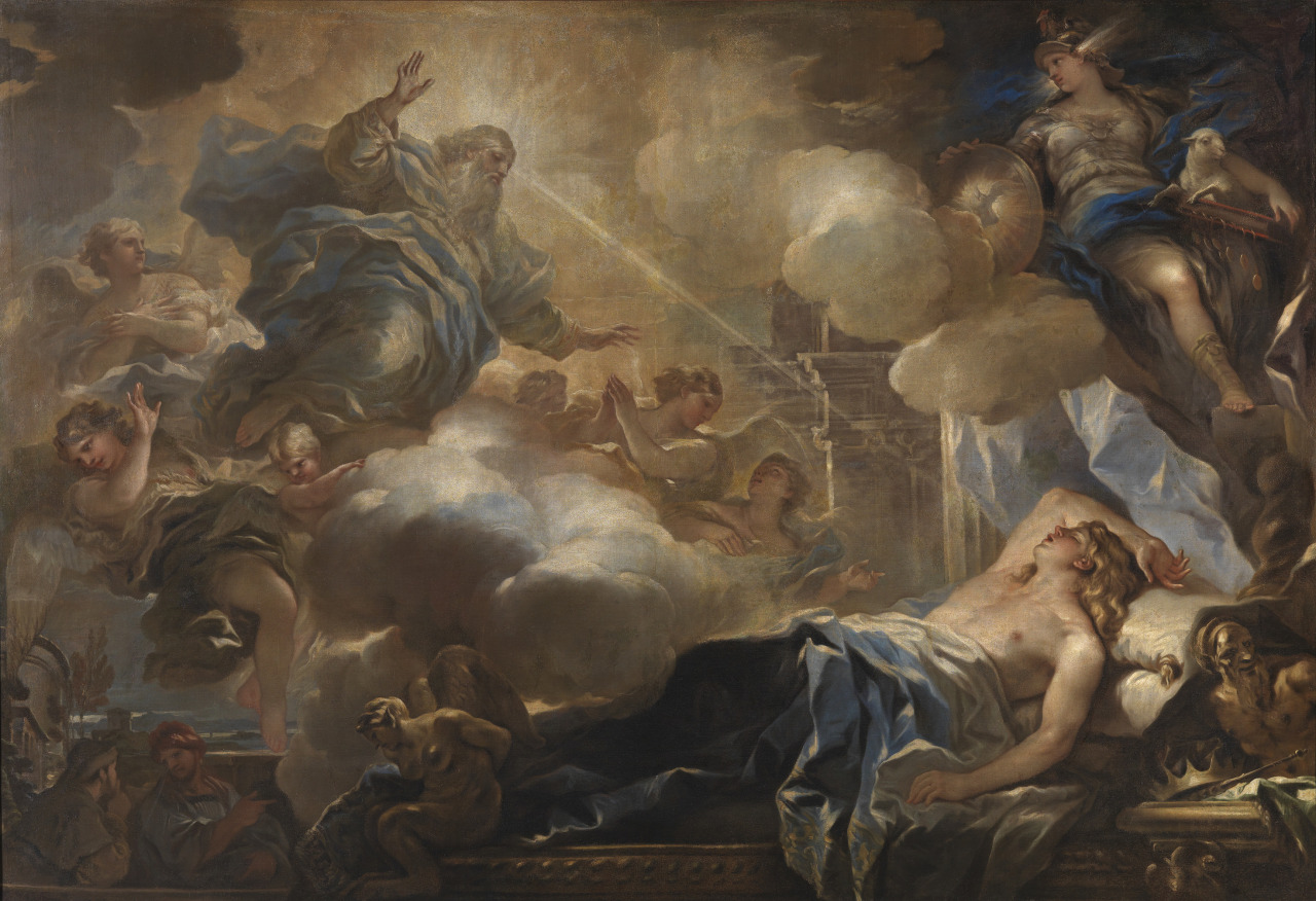 6a587bce76ff The Dream of Solomon is a truly stunning picture by Luca Giordano