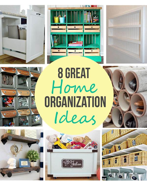 Remodelando la Casa 8 Great Home Organization Ideas
